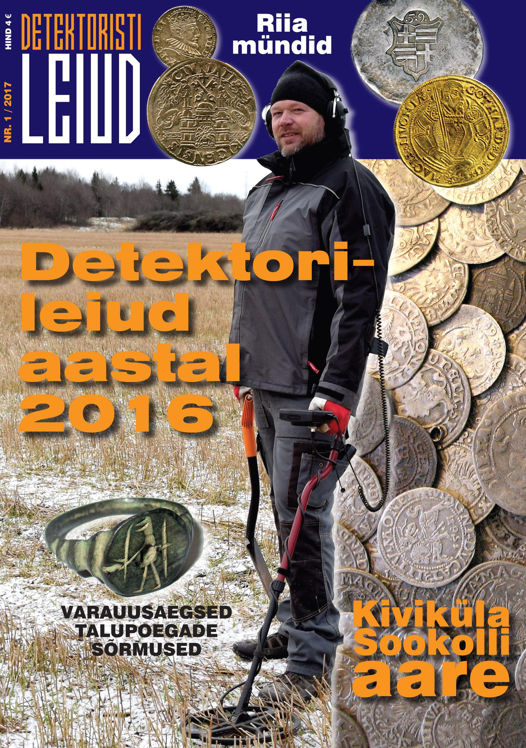 Detektoristi Leiud 2017 Nr 1